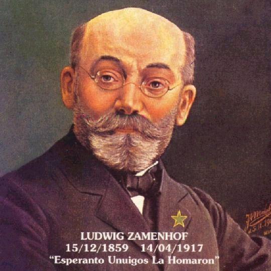 Lázaro Luiz Zamenhof, criador da língua internacional Esperanto